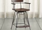 Crate And Barrel Bar Stools with Backs Canada