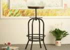 Heavy Duty Commercial Bar Stools Adjustable Amazon