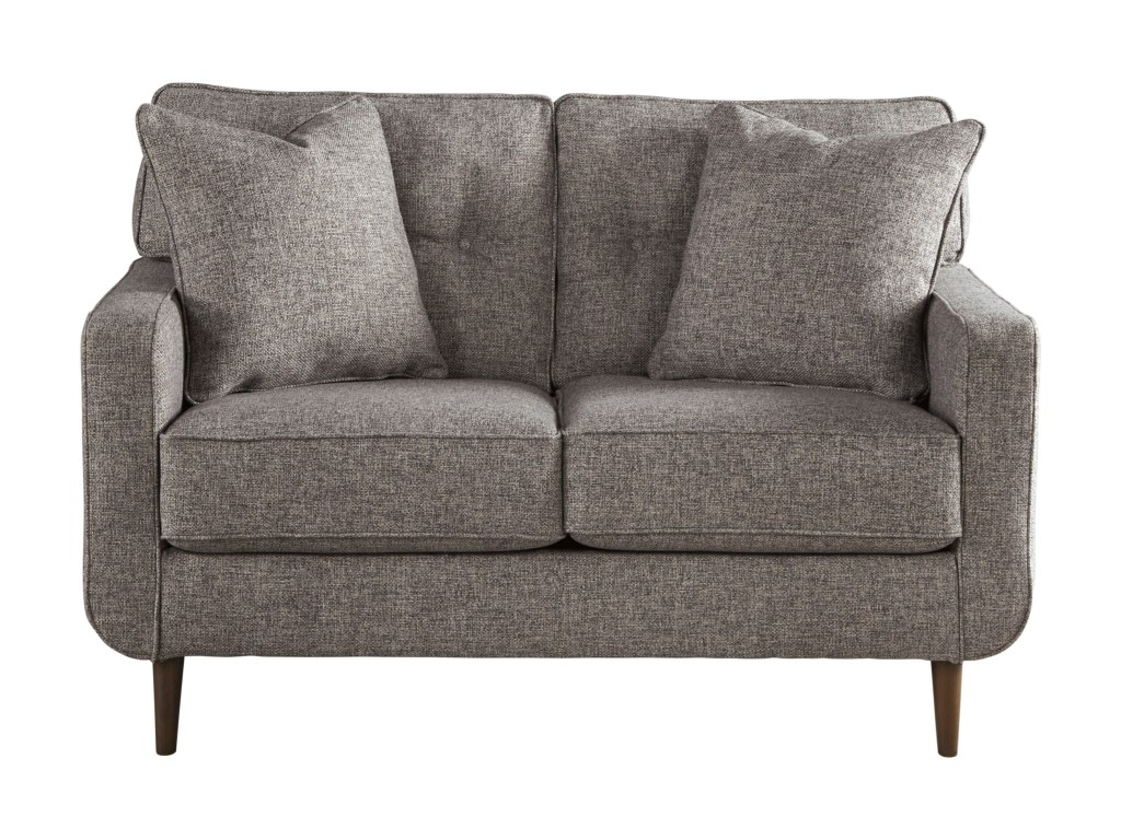 Mid Century Modern Loveseat with cushion sets
