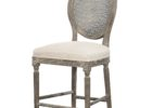 Round Back Bar Stools Backrest