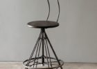 Round Back Bar Stools Backrest Design