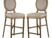 Round Back Bar Stools Covers