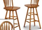 Round Back Bar Stools Wooden