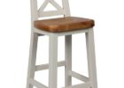 Round Back Bar Stools with Backrest Design