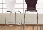 Round Back Bar Stools with Backrest for Sale
