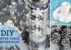 Winter Home Decor Ideas interior design top winter themed table decorations good home
