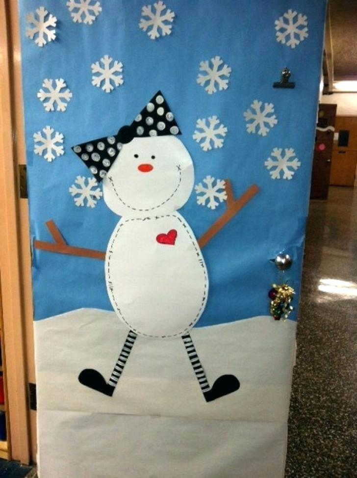 Winter Mantel and Shelf snowman-door-decorations-snowman-door-decoration-instructions-winter-pretty-ideas-decorations-with-decorating