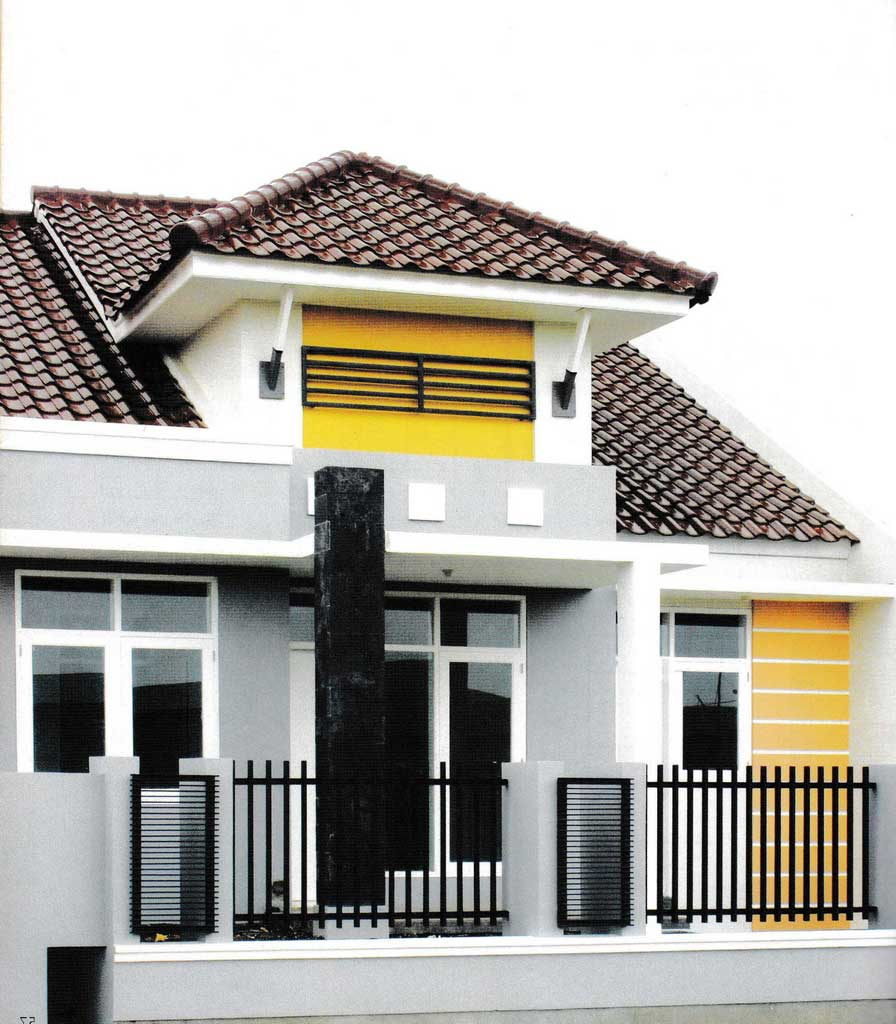 Building Facade for Modern Minimalist Home Projects   Raysa House