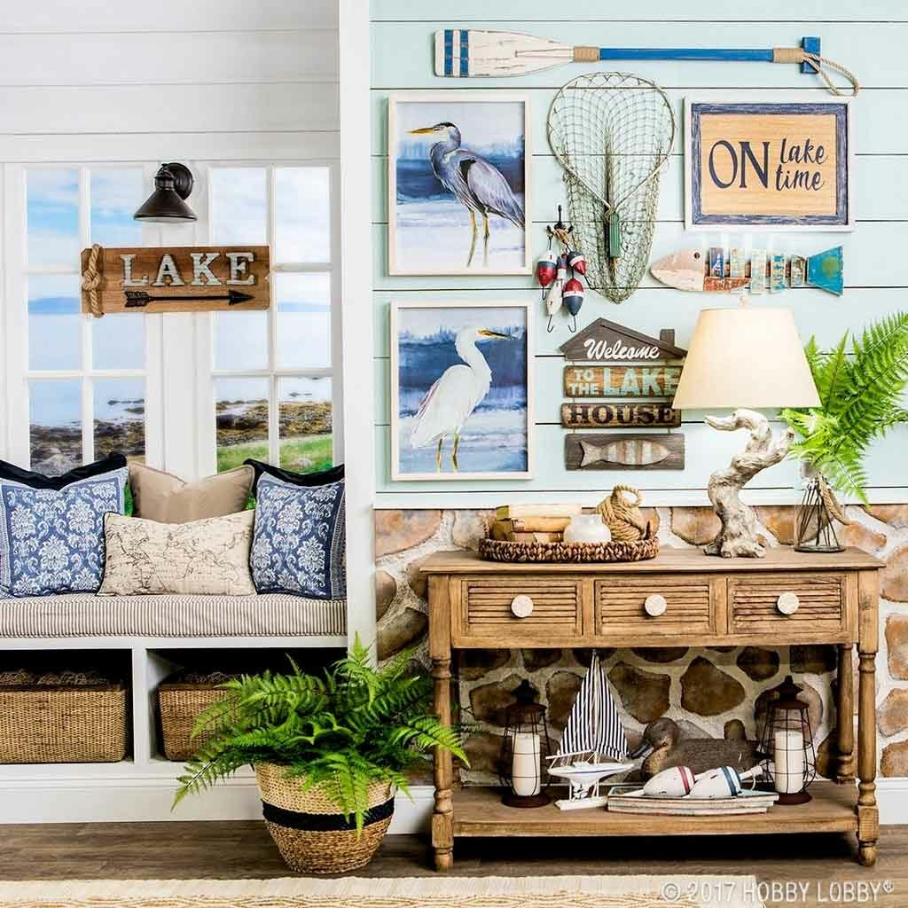 Four Lake Themed Decor Ideas for Comfort Living | Raysa House