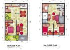small house floor plans small house builder small house 3 bedroom plans 2B