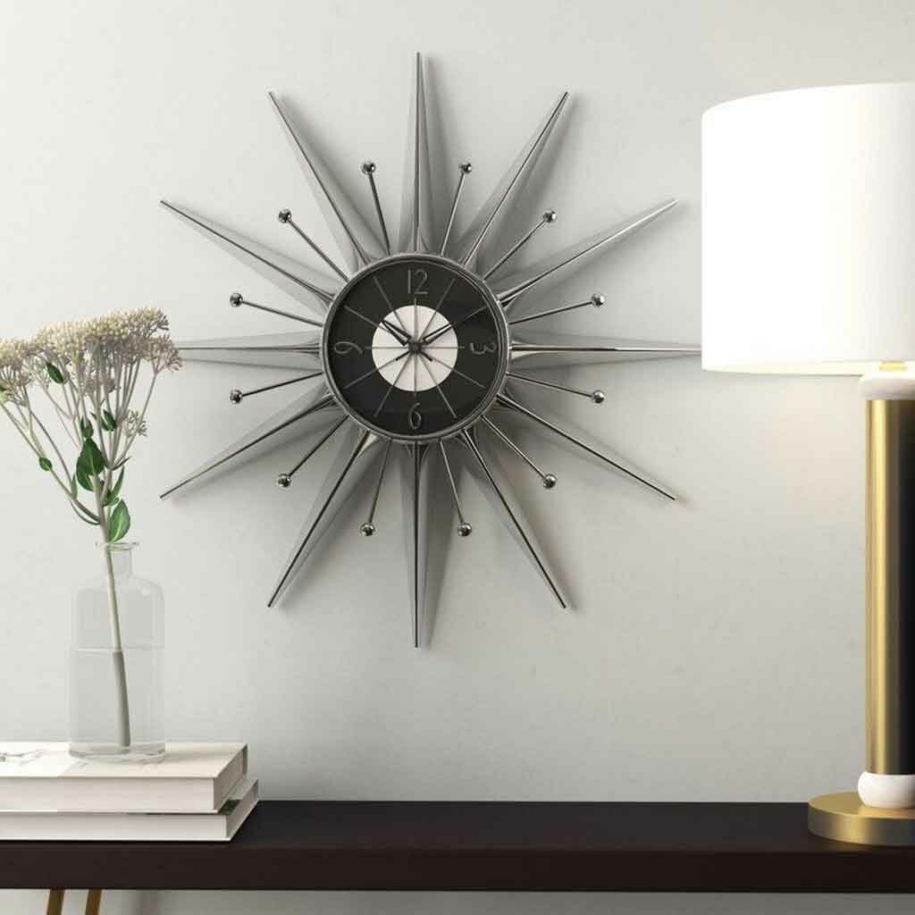 Mid Century Modern Wall Clock for Interior Designs That You Will Love| Raysa House