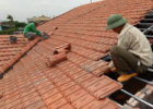 clay roof tile installation how to batten a roof tile roof pictures