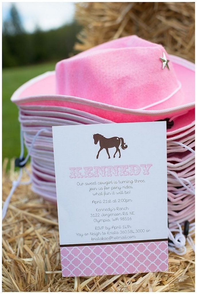horse birthday party invitations-birthday-parties-cowgirl-birthday