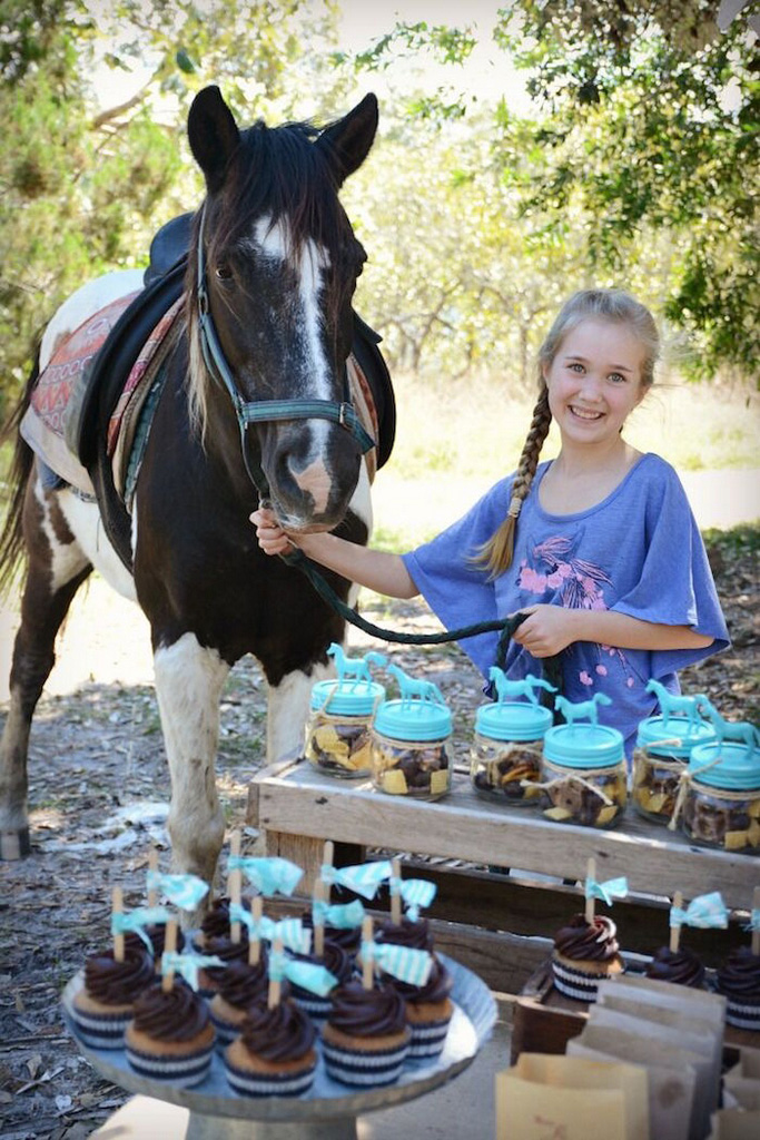 horse party favors-Rustic-Horse-Birthday-Party-Party-Ideas-horse party food ideas