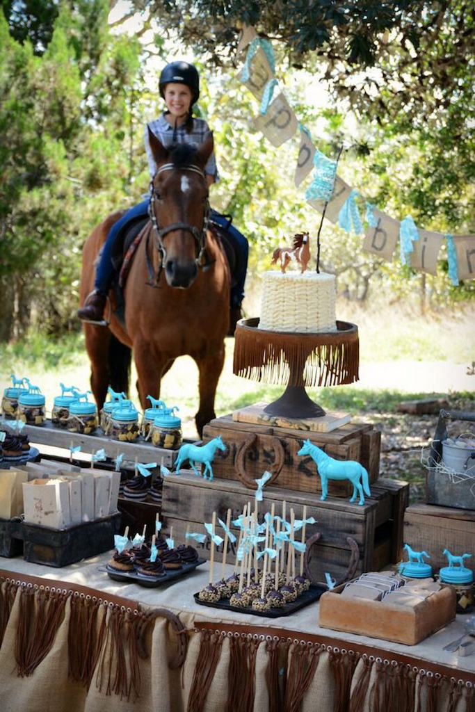 horse racing party food-horse riding birthday party-Rustic-Horse-Birthday-Party-Ideas