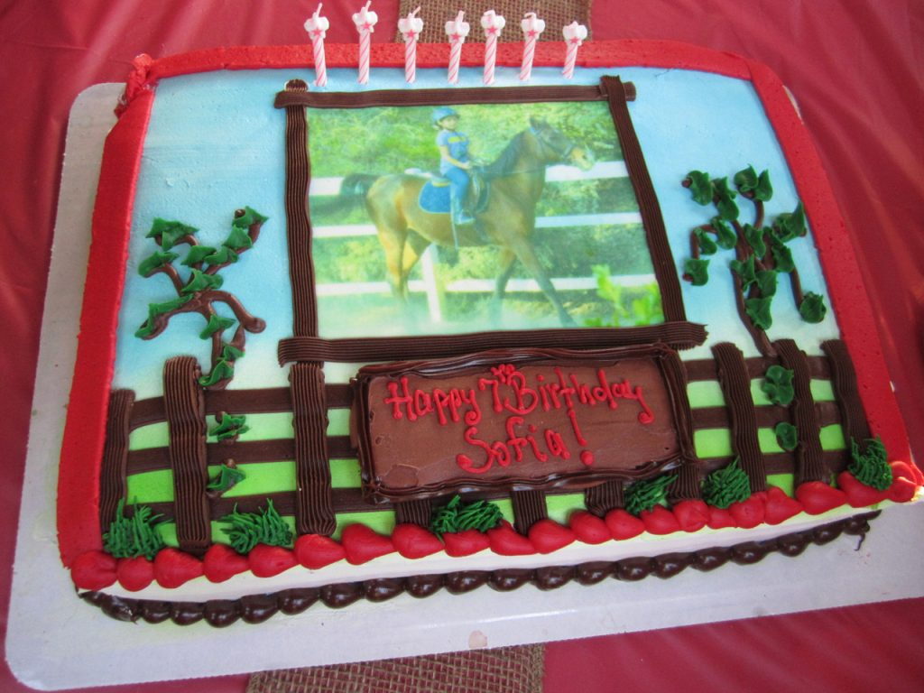 horse themed cakes-Birthday-Cake-horse themed party decorations