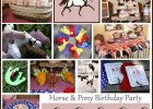 horse themed party Horse+Birthday+Party+Collage horse party decorations