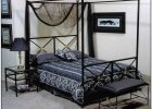 Black Canopy Bed Curtains 04
