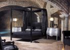 Black Canopy Bed Curtains 07