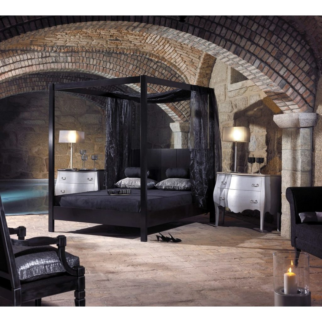 11 Black Canopy Bed Curtains Pictures