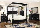 Black Canopy Bed Curtains 12
