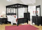 Black Canopy Bed Curtains 20