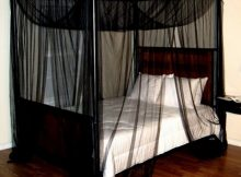 Black Canopy Bed Curtains 21