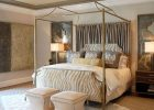 Gold Canopy Bed Frame 14