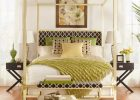 Gold Canopy Bed Frame 23