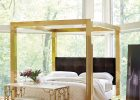 Gold Canopy Bed Frame 26