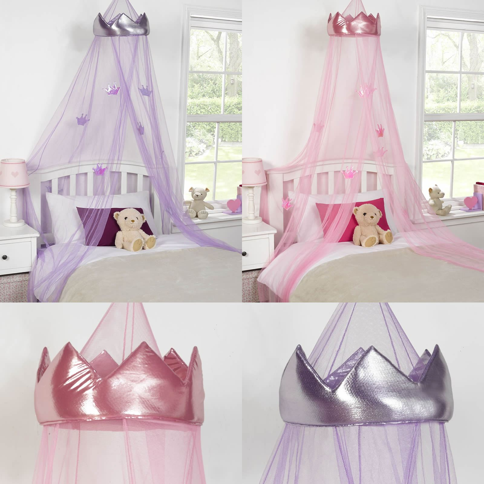 Easy Diy Princess Drapes Over Bed For Little Lady