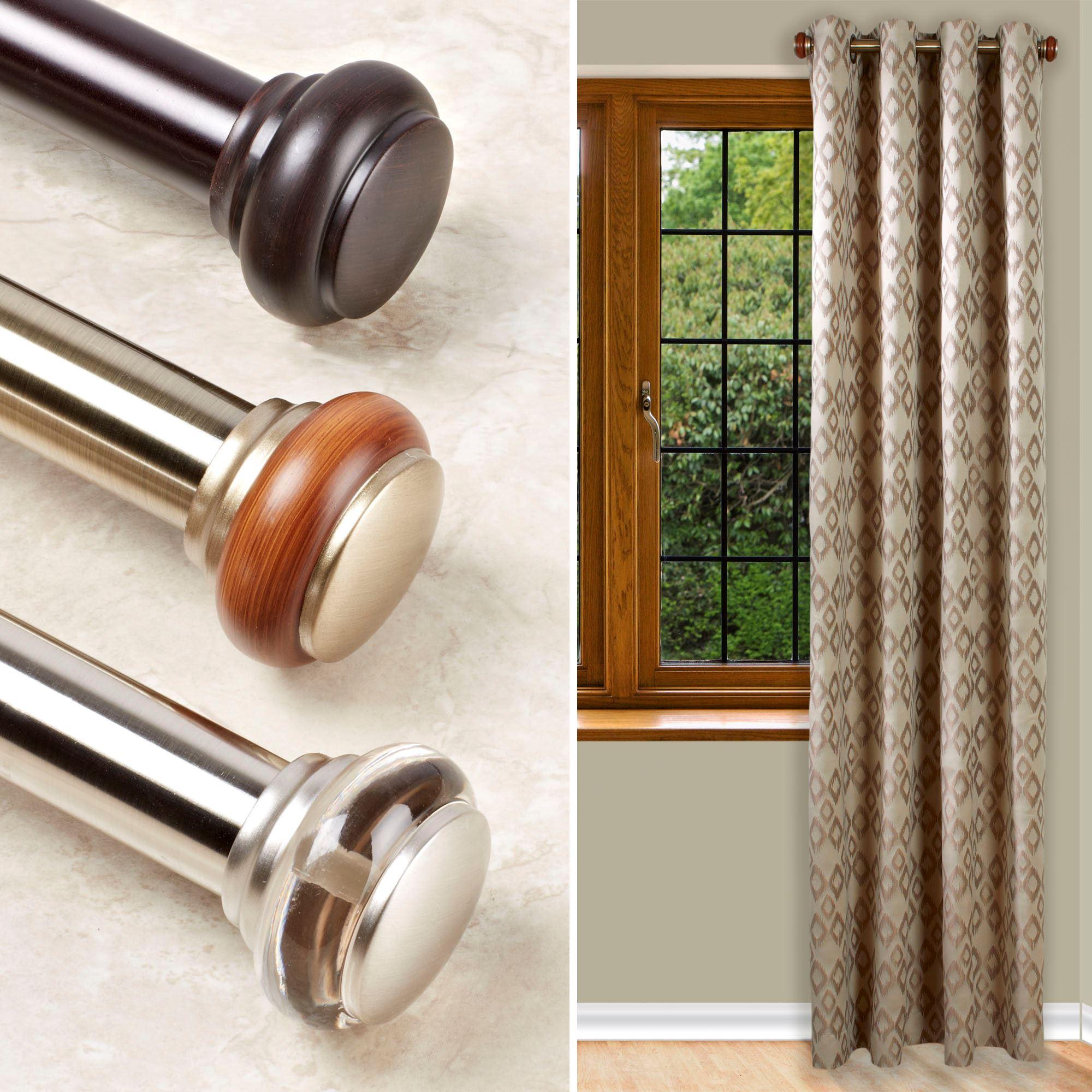 Short Decorative Curtain Rods 12