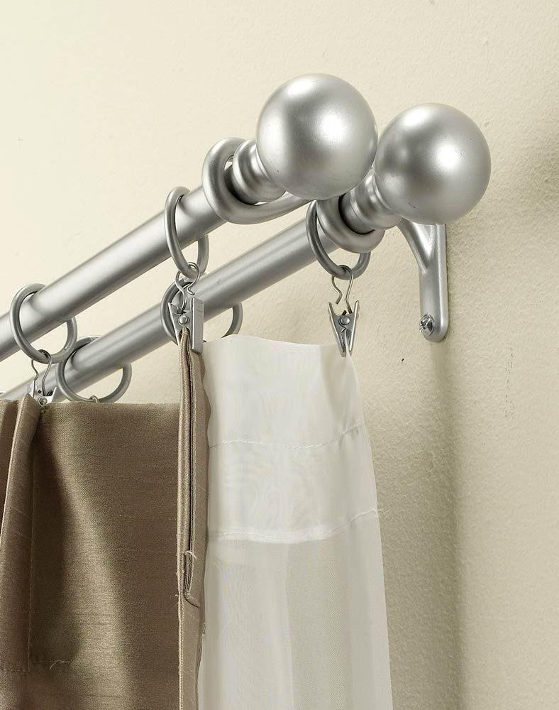 Bay Window Double Curtain Rod  bathroom cabinet with lights modern contemporary kitchens bathroom sink stopper types - Beckyfriddle