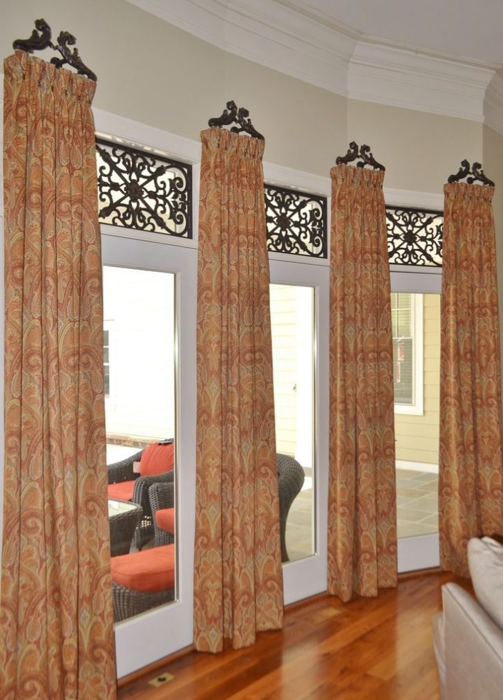 Curtain Decor Ideas For Living Room: Smart DIY Small Curtain Rods For Windows Decor Ideas