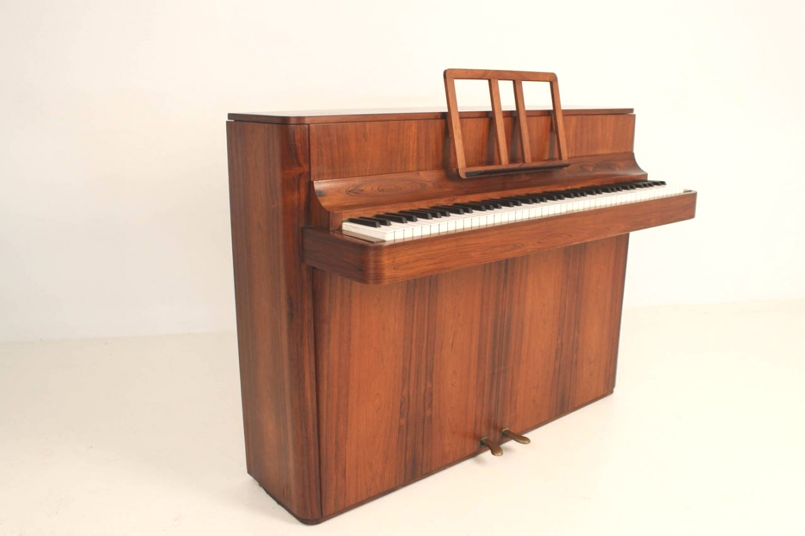 mid century modern piano | Stylish Mid-Century Modern Piano by Brodrene Caspersen Denmark at ..