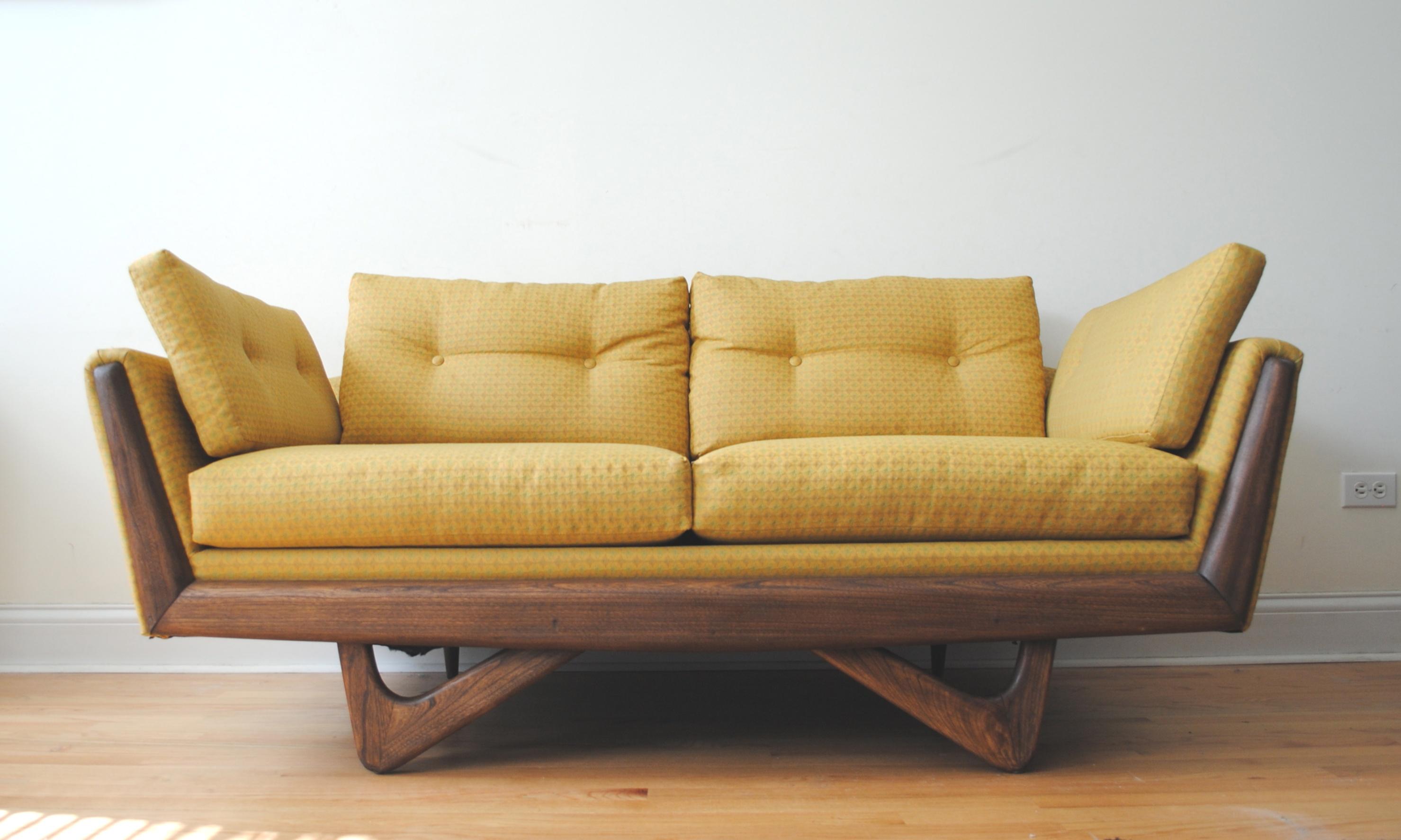 mid century modern loveseat | Mid Century Modern Adrian Pearsall Sofa | Phylum Furniture | mid century modern loveseat