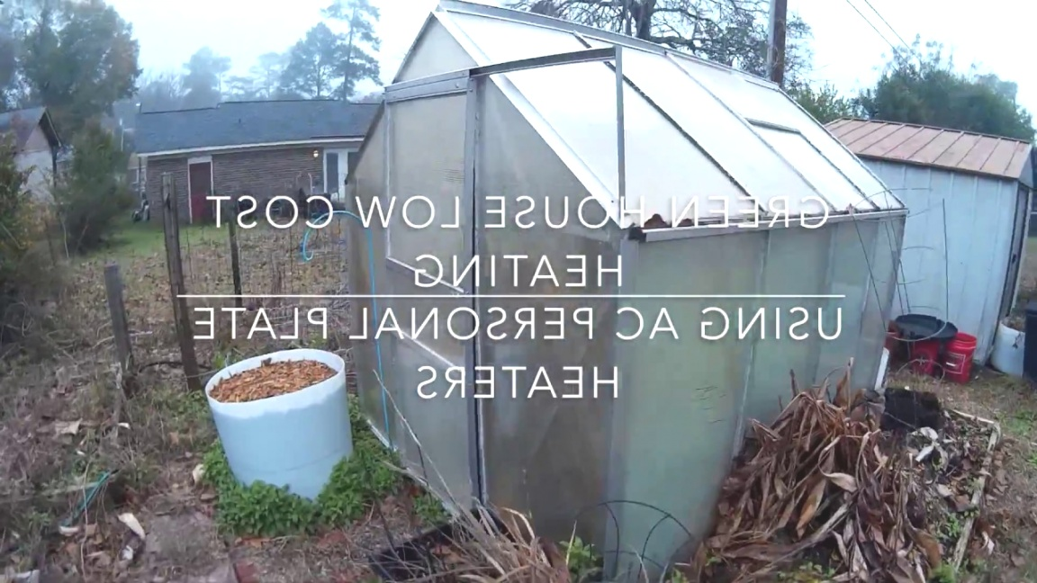 small greenhouse heater   Heating a small greenhouse with electricity (Lowest Watt heater ..