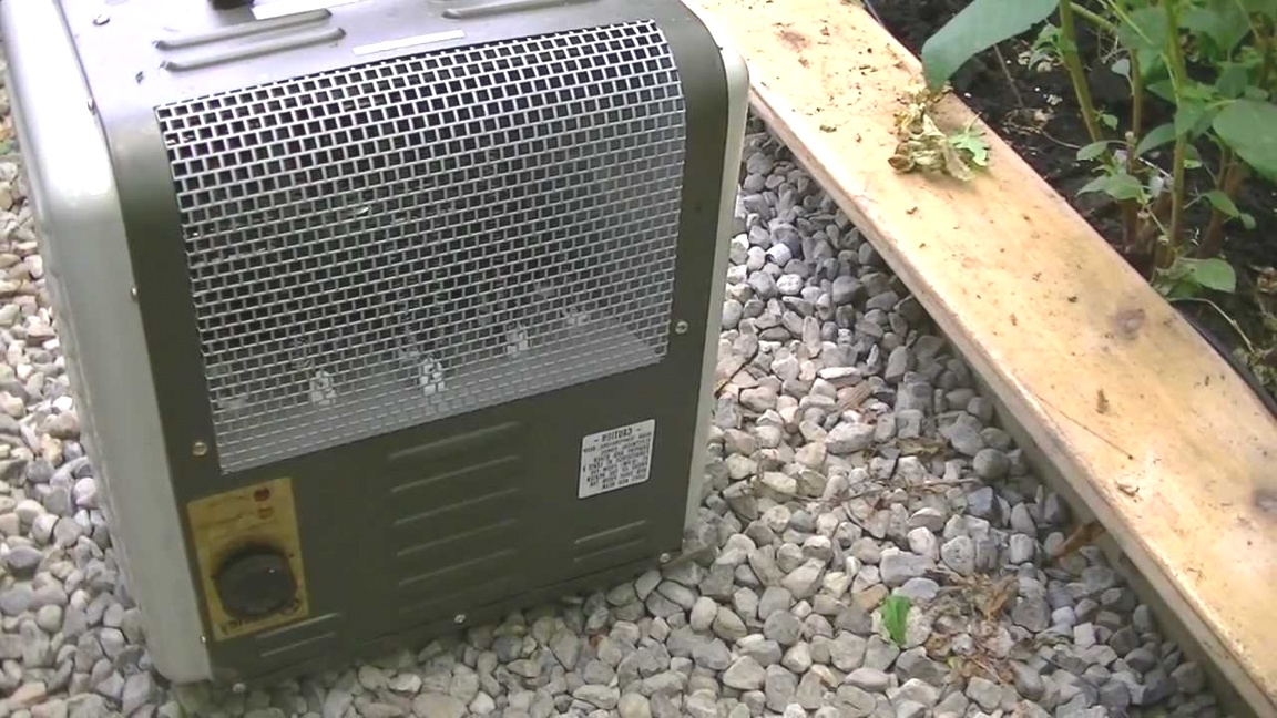 small greenhouse heater | Backyard Greenhouse Heating in Winter (2) - YouTube | small greenhouse heater