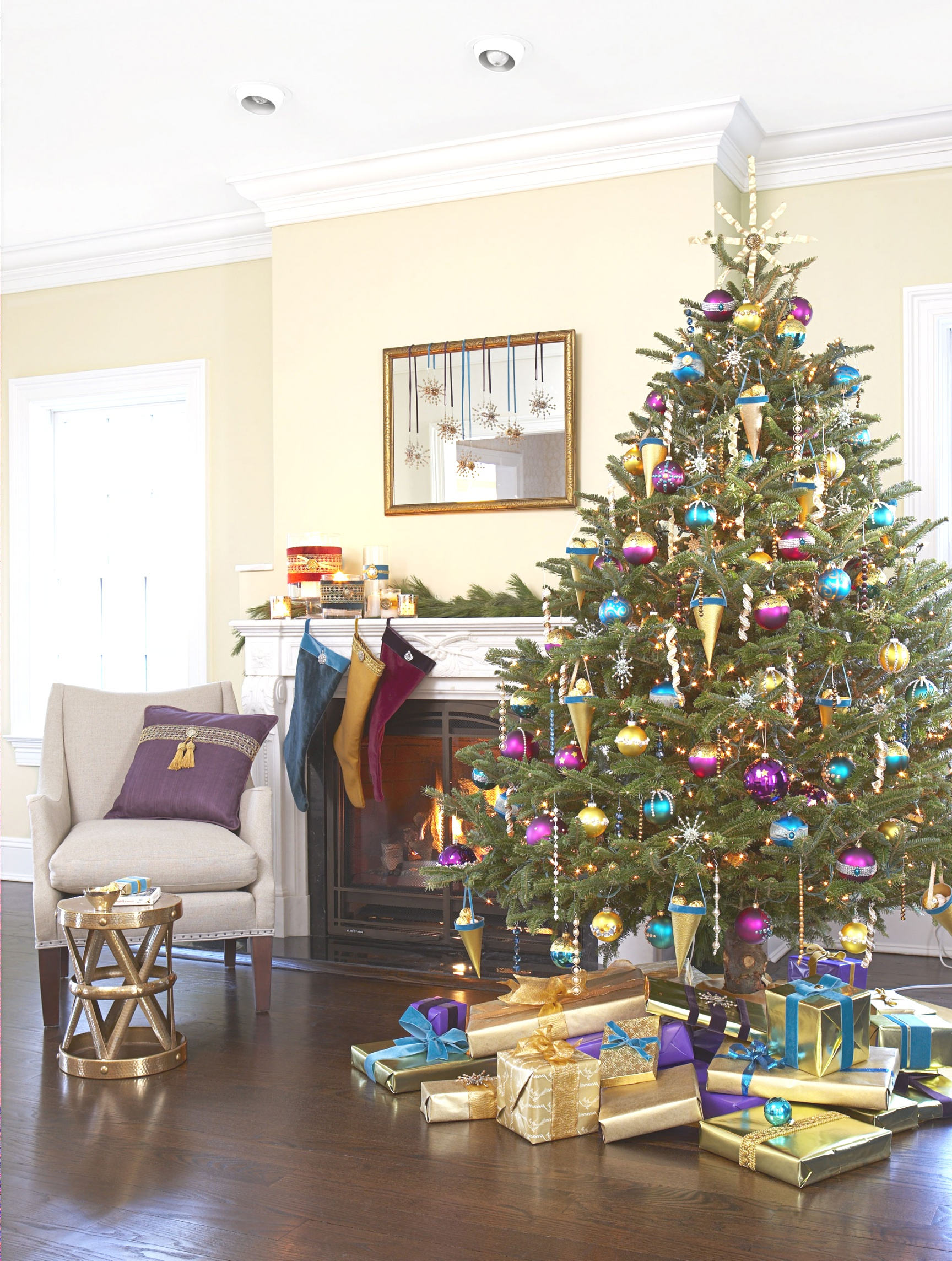 decorating themes | Interior Design : View Unique Christmas Decorating Themes Home ..