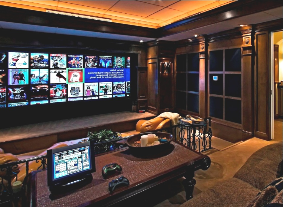 movie themed home decor   Home Movie Room Decor Ideas - HOUSE DECORATIONS AND FURNITURE   movie themed home decor