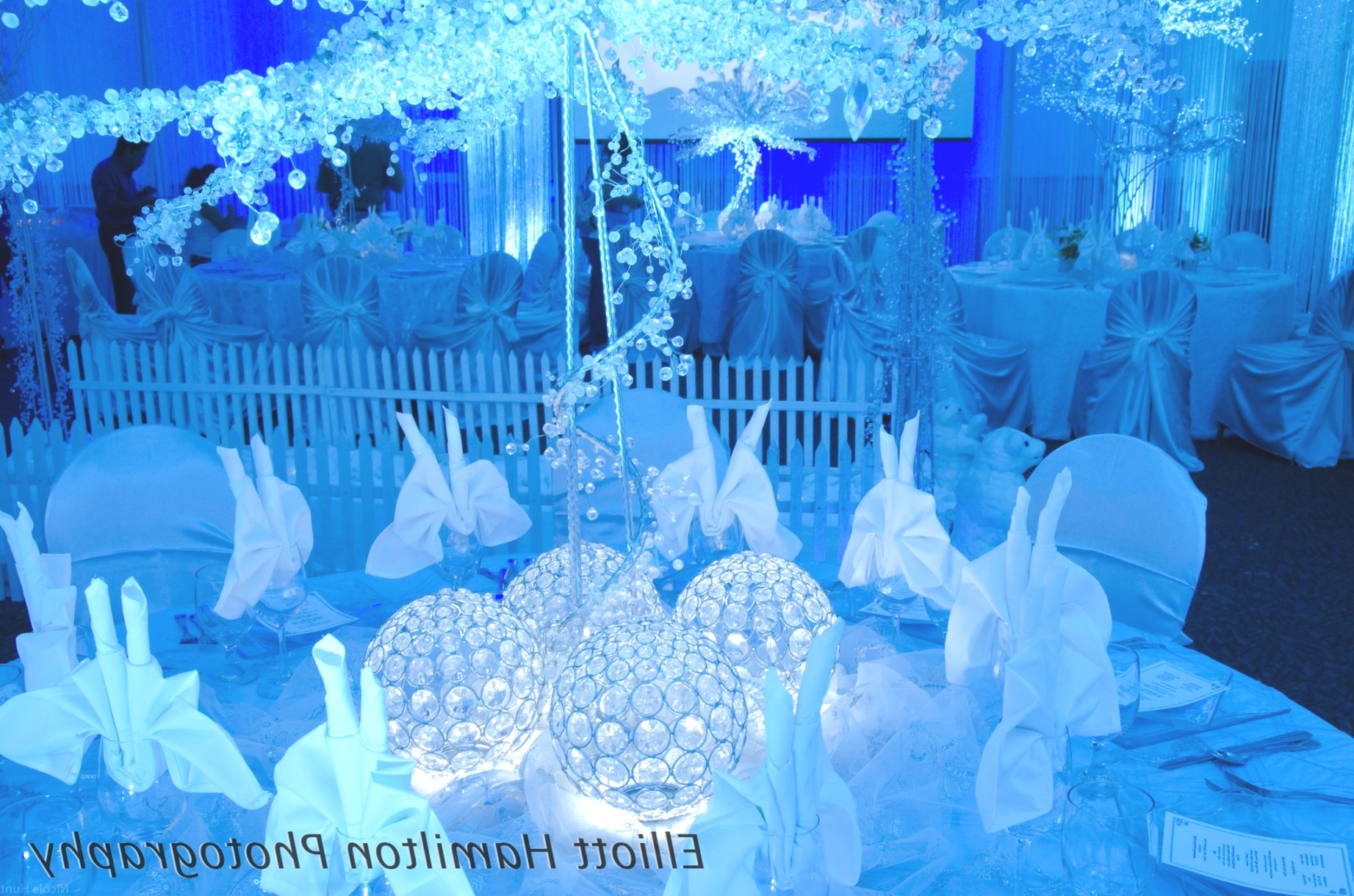 winter themed decorations | Decorating With Shells Winter Themed Table Centerpieces Furniture | winter themed decorations