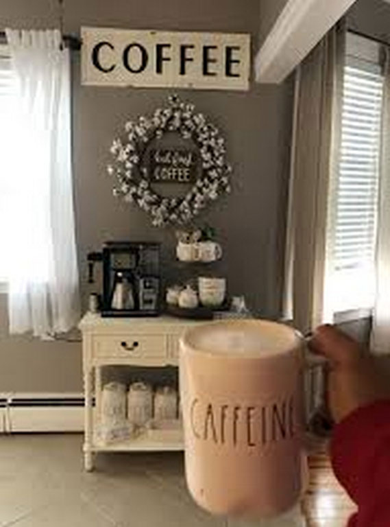 Awesome Coffee Themed Home Decor Using This 6 Elements Raysa House